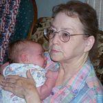 Great Grandma and Ryder May 2005