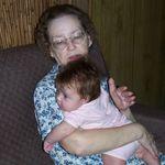 Great Grandma and Kayden July 2006