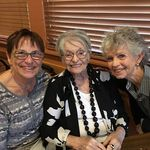 With Beloved Friends Penny and Sandy