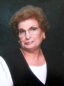 Frances Vaughan Patterson obituary photo