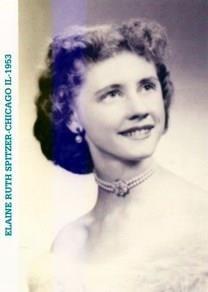 Elaine Ruth Robinson obituary photo