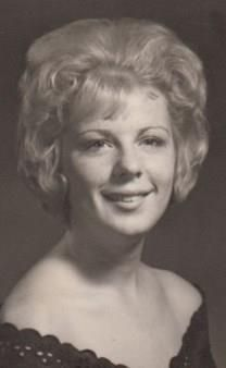 Georgia Carol Tenberg obituary photo