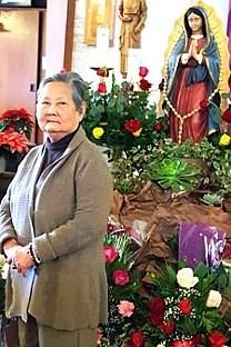 Bienvenida Garcia Castulo obituary photo