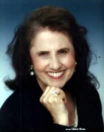 Joan Glass obituary photo