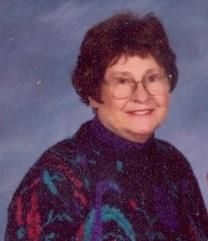 Veva J. Lightcap obituary photo