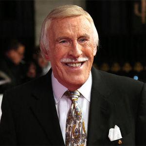 Sir Bruce Forsyth (Photo by Joel Ryan/Invision/AP)