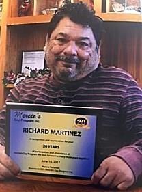 Richard Martinez obituary photo