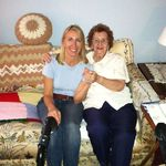 Dorann and Mom 2013