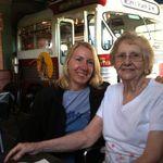 Mom and Dorann in Kent, Ohio 2013