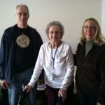 Tuck, Mom and Dorann 2014 at Kentridge