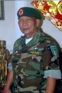 Cao Son obituary photo