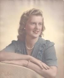 Doris Alberta Thomas obituary photo