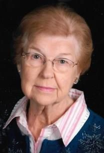 Eva Frances Zaner obituary photo