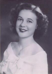 Betty Joyce Ecles obituary photo