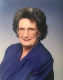 Hazel Alberta Burney obituary photo
