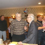Friends gathered at 95 birthday celebratiom