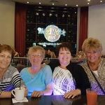 Lorrey, mom, Cherie & ME at Hardrock.  Lorrey & mom gambled while Cherie & I watched a FABULOUS show by Dolly Parton!! <3