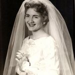 Patty's wedding picture 1958