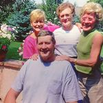 Angie and her siblings in Colorado year 2000.