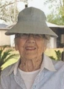 Flora Mae Nicholson obituary photo