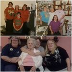 Lillian and her daughters through the years