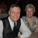 Harland and Sherry at the wedding of his daughter, Jennifer
