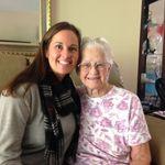 Grandma Ellrodt and Kelly L. Ellrodt