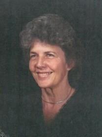 Betty Lee McCord obituary photo