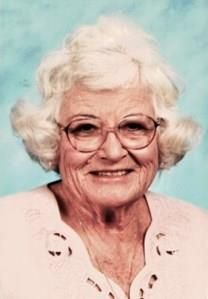 Frances Florene Toungate obituary photo