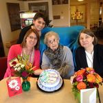 A recent birthday celebration with her daughters