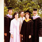 Graduation at Loma Linda University in Loma Linda, California