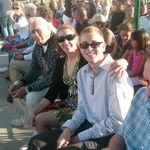 Scott, Deb and grandpa at Annelise&#39;s 8th grade graduation