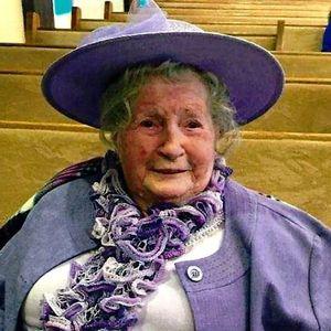 Mrs. Marjorie Jean Parent Obituary Photo