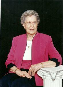 Mrs. Ann McClain Voyles