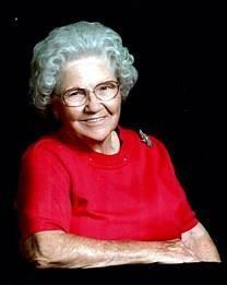 Gladys Marie Whittington obituary photo