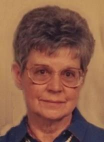 Gloria Ruth Evans obituary photo