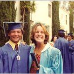 George's high school graduation 1976.