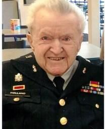 Norman Leonwood Holland obituary photo
