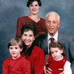 Mema Papa and granddaughters