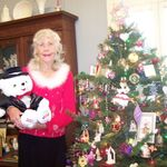 Arla in her home, Christmas 2011