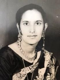 Narinder Kaur obituary photo