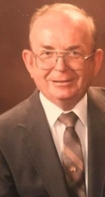 R.W. William Braden obituary photo