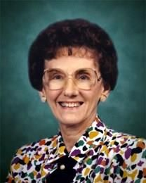 Martha June Brock obituary photo
