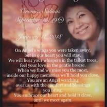 Veronica Salinas obituary photo