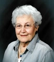 Mary Lois De Kock obituary photo