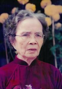 Nguyen Thi Doan obituary photo