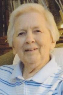 Betty Jane Robertson obituary photo