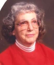 Elwanna McHam Parker obituary photo