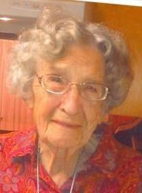 Ruth Kerns Clatterbuck obituary photo