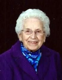 Alma Barbara DeBoer obituary photo